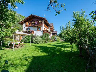 Photo for Chalet in typical alpine style with garden in the Stelvio National Park
