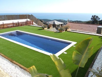 Photo for Club Villamar - Very comfortable and nice villa for 6 people with nice sea view  just a 3 km away...