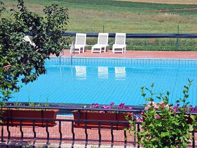 Photo for Apartment in Đuba with Parking, Internet, Washing machine, Pool (111839)
