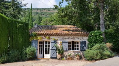 Photo for Charming, peaceful cottage near village, Cote d'Azur and Alps with pool access
