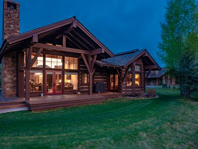 Photo for Beautiful Western Star Cabin located at Jackson Hole Golf & Tennis!