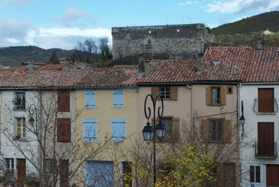 Street Map Of Quillan France.Delightful Village House Great Views Foothills Of Pyrenees Quillan