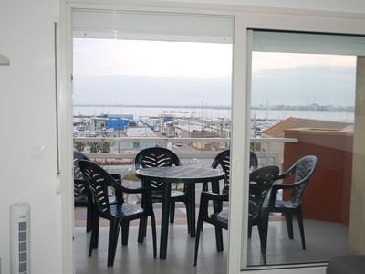 Photo for Apartment very well located in front of the fishing port, close to everything.