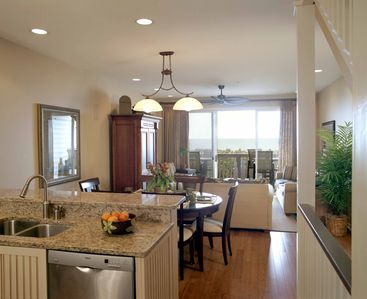 Enjoy the ocean views while cooking!