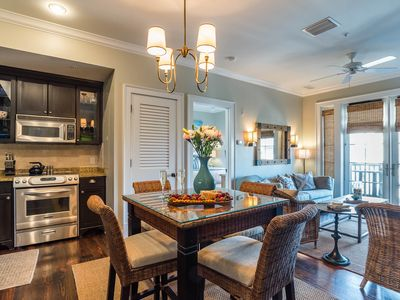 Photo for Located in the Heart of Rosemary Beach! Private Balcony!