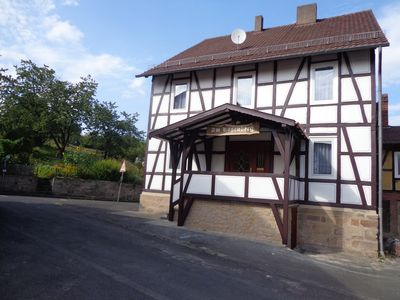 Photo for Am Rosenberg is an old fachwerkhaus is gerenoveerd in, 2015.