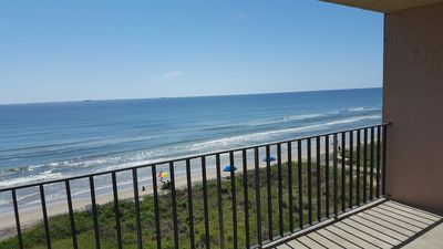 Photo for New Direct BEACHFRONT Condo - Save up to $200 - Right on the Beach w/Large Deck