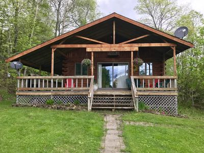 Photo for Country Log Cabin near Cooperstown
