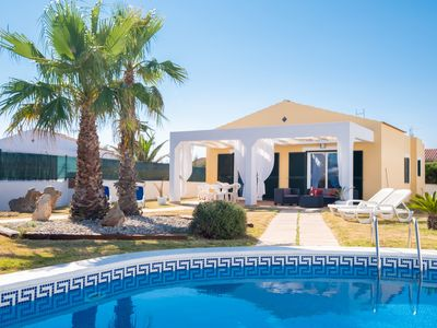 Photo for Holiday home with a private pool near the coast