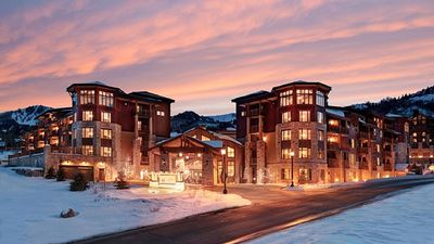 The Sunrise lift is just out the door from the Ski Valet!
