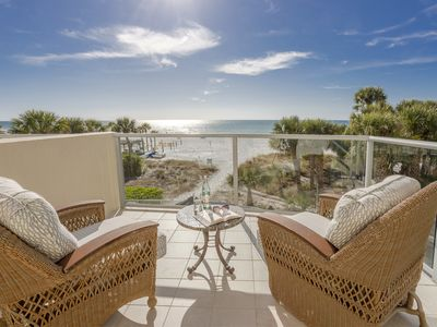 Photo for Simply the best! Gulf front, private grill, views, amenities!
