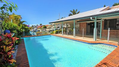 Photo for Mooloolah 47 - 3 Bedroom Pet Friendly House on Canal w/Pool+ Free Wifi+ Netflix and Stan