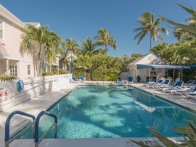 Photo for Craig & Cindy Key West Truman Annex Shipyard Condo with a deck at Mile Marker 0!