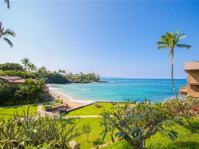 Photo for Remodeled with Luxurious Upgrades! AC! Top Floor with Ocean Views! Kahana Sunset B7