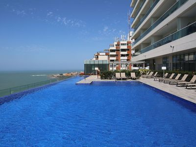 Photo for Car019 - Apartment overlooking the sea in Cartagena
