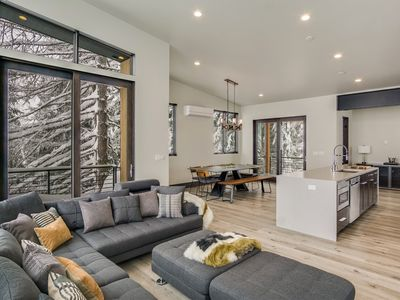 Photo for Headwall 42 - Gorgeous, Contemporary, Ski in/out Townhome off Basin Express Chair