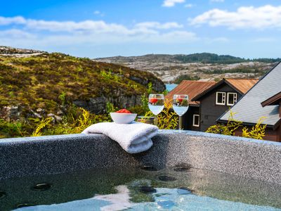 Photo for New stunning holiday home, with panoramic views and own outdoor spa