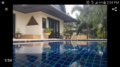 Photo for 5BR Private Beach Villa