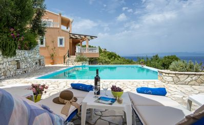 Photo for Despina - Villa with private pool & amazing seaviews