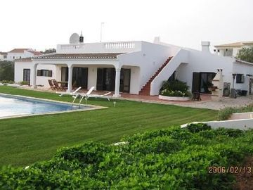 A villa on private grounds in the village of Sargacal, near Lagos.