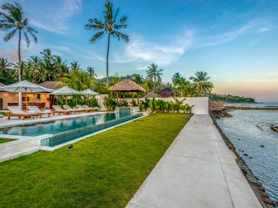 Photo for Elegant 4 Bedroom Villa Ocean View, Candidasa;