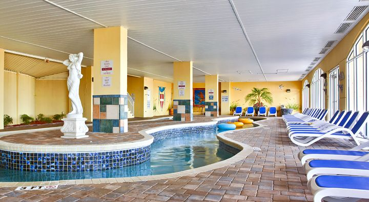 Island Time Honeymoon Suite Direct Oceanfront Balcony King Tile Floors Thru Out Myrtle Beach