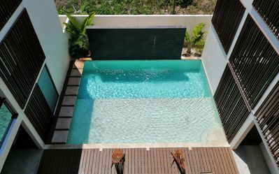 Ground floor pool Trinity Tulum Mexico - Chill and relax