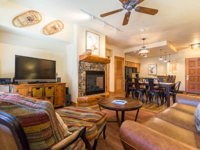 Photo for True Mountain Condo! Air Conditioning at Summer Time! Beautiful Decor TL2106