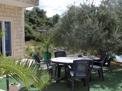 Photo for Two bedroom apartment near beach Cove Jedra bay - Jedra (Hvar)