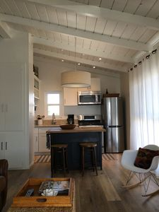 Photo for Mid Century Beach Studio, Love Shack,  completely remodeled, upstairs, view