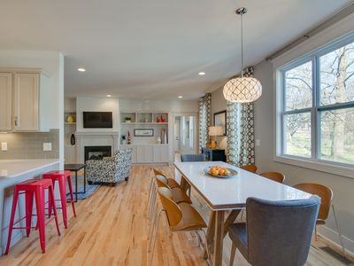 Photo for Luxury Meets Convenience in this 4Br/3.5Ba New Home!  Sleep 12 in Actual Beds!