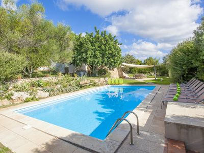 Photo for ES GARROVER (SON PALLICER) - Villa with private pool in CALA MILLOR.