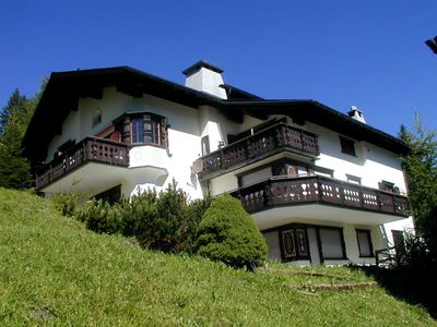 Photo for Quaint apartment in Lenzerheide with fireplace and beautiful panoramic views