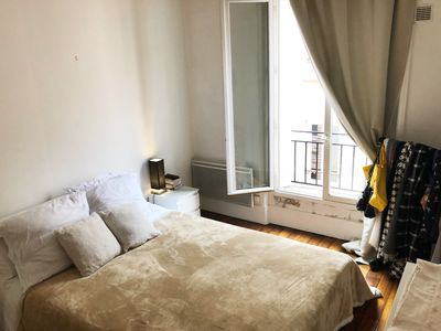 Photo for Charming 2 rooms, very bright, near the center of Paris