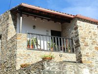 Traditional stone cottage in farming village