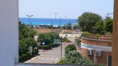Photo for Studio B23 / B43 with a balcony overlooking the sea in a small square in Baia Verde