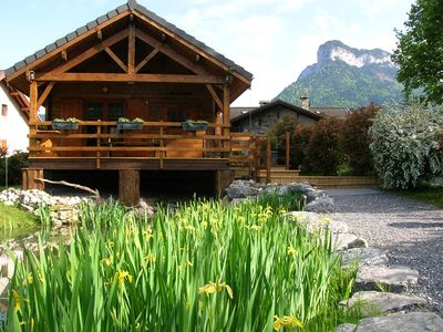 Photo for 2BR Chalet Vacation Rental in Lathuile, Auvergne-Rhône-Alpes