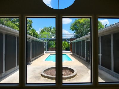 Photo for Guadalupe Getaway - Private house on the Guadalupe River w/ pool and hot tub