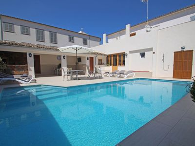 Photo for Villa Es Rafal - Perfect house - Big Pool - AirCon - House for 8 people in Porreres