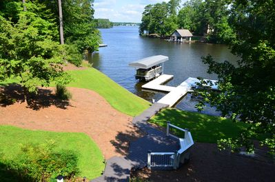 Max dock on beautiful and private cove!