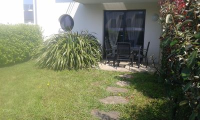 Photo for Apartment T3 with terrace and private garden, near the beach, WIFI