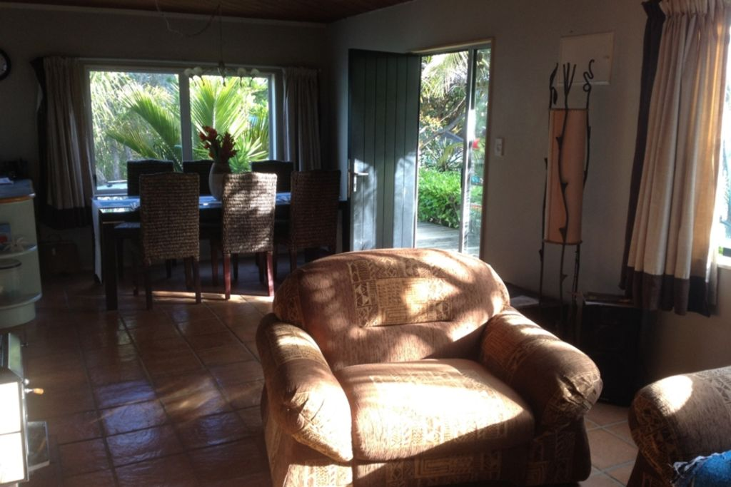Quiet retreat at Bethells