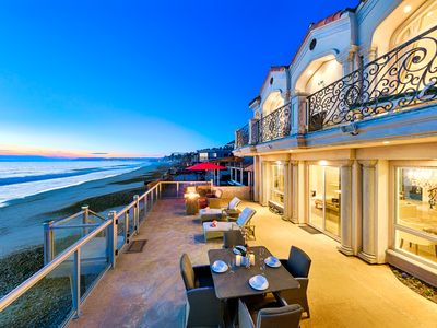 Photo for 25% OFF OCT+NOV-Beachfront Vacation Home, 2 Master Suites,Ocean Views+XL Deck