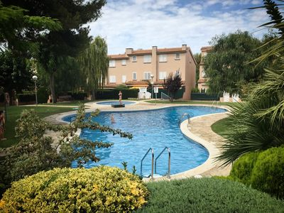 Photo for Quiet apartment with pool in Altafulla