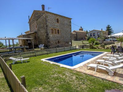 Photo for Catalunya Casas: Historical 6-bedroom getaway in Vilaseca for 15 guests