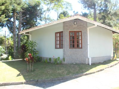 Photo for Comfortable chalet in the middle of the Atlantic forest in Teresópolis- Canoas