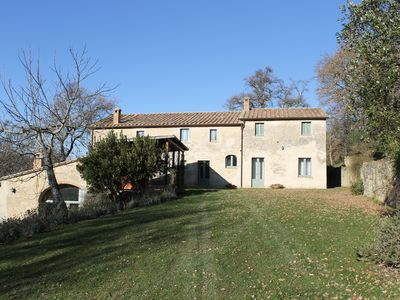 Photo for The Oaks estate, beautiful property in Val d'Orcia