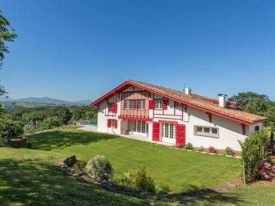 Photo for Basque Country │Magnificent villa · 7 suites · View on the Pyrenees · Pool
