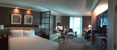 Photo for Strip View, Great Rates, Jr Suite w/Balcony- Signature MGM - Free Valet Parking