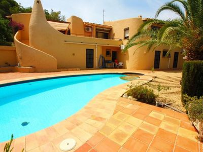 Photo for Very Quiet area, Altea la Vella, private pool, AC, Wifi